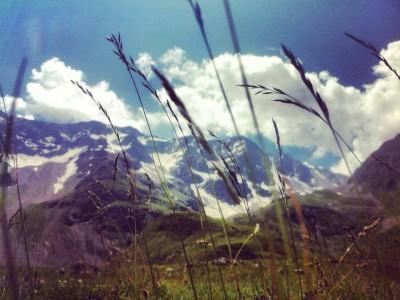 Shooting in Col du Galibier !