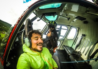 Heli shoot in Norway with Fonnafly