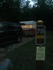 High Falls Campsite 78