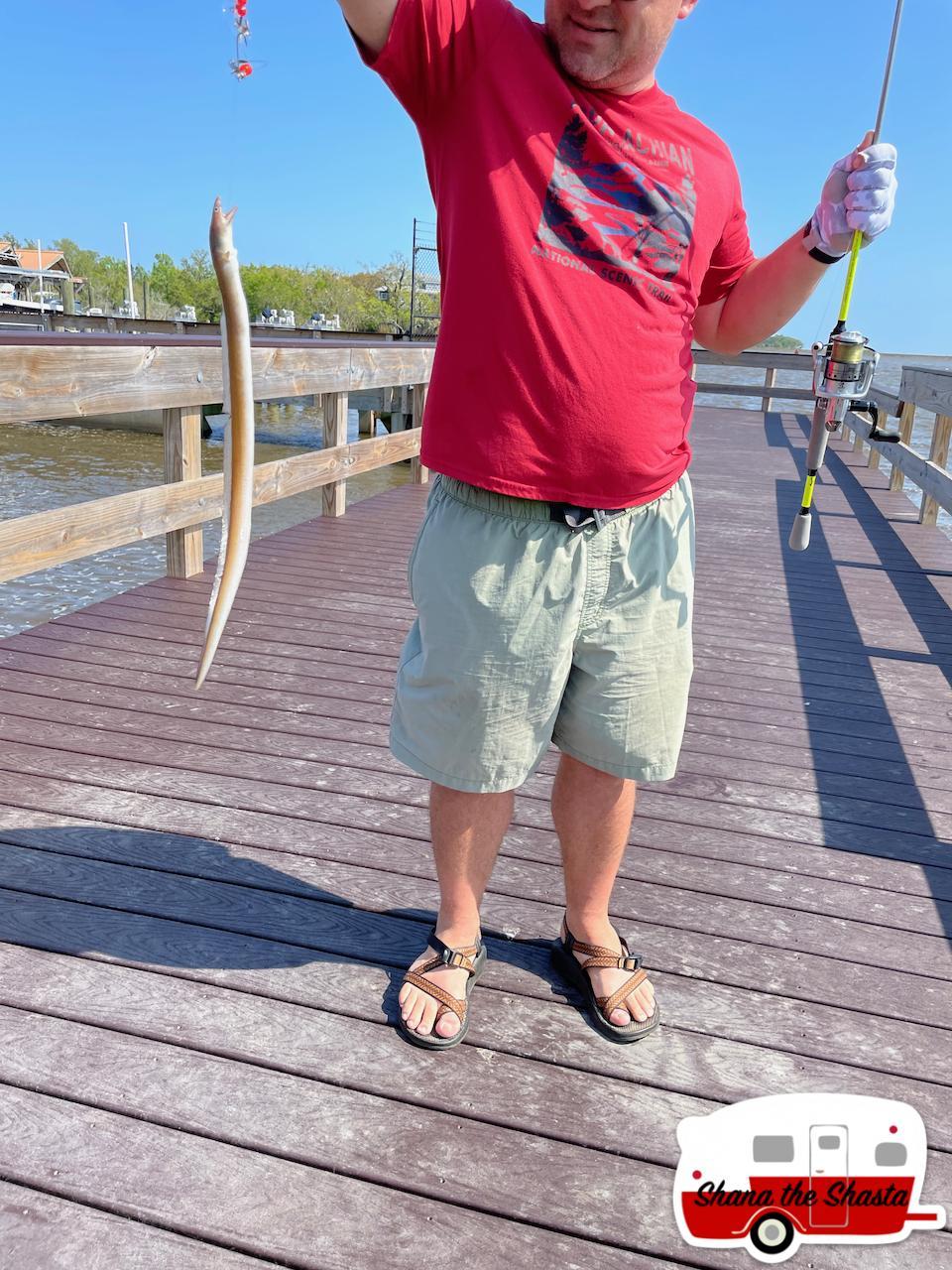 First-Eel-Caught-in-Ocean-Springs