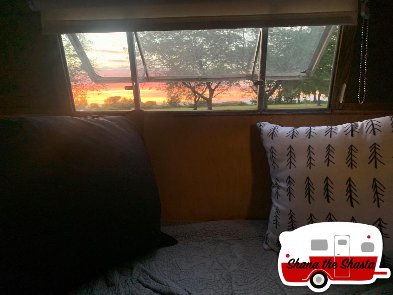 Sunset-from-Inside-Vintage-Camper