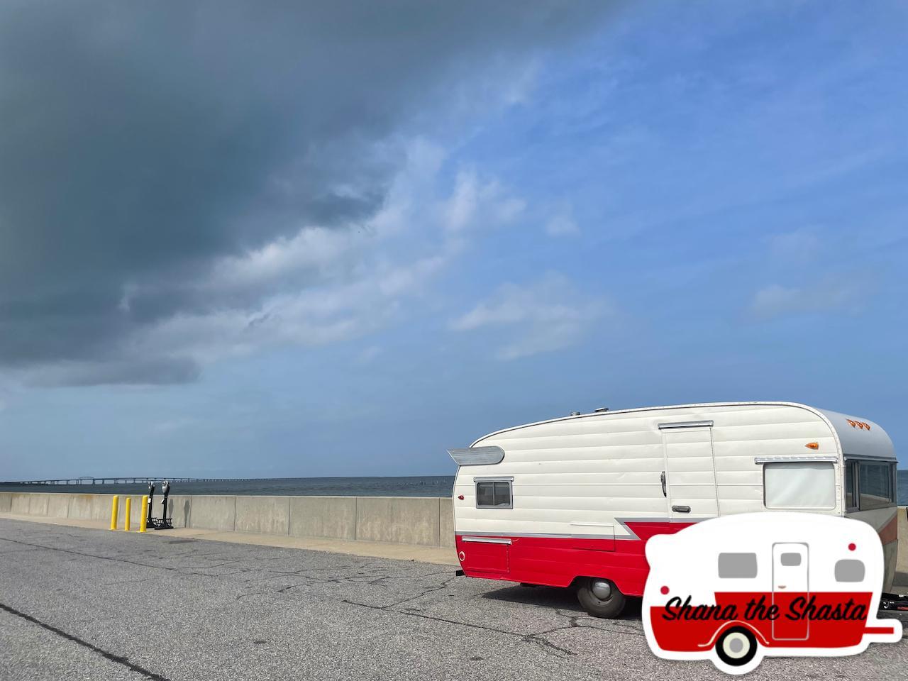Vintage-Camper-at-Cheasapeake-Bay-Bridge