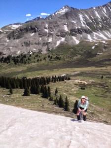 Twila on Drift Peak