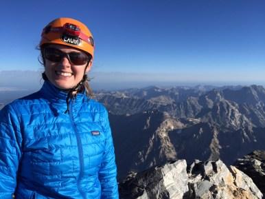 Jessi on the summit