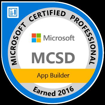 MCSD Badge