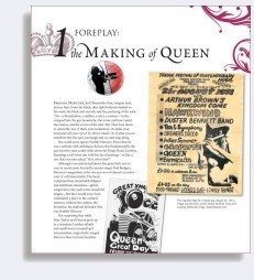 Example Page from Queen: The Ultimate Illustrated History of the Crown Kings of Rock by Phil Sutcliffe - Book Review