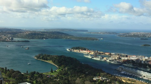 Sydney Harbour as seen from the AMP / Sydney Tower