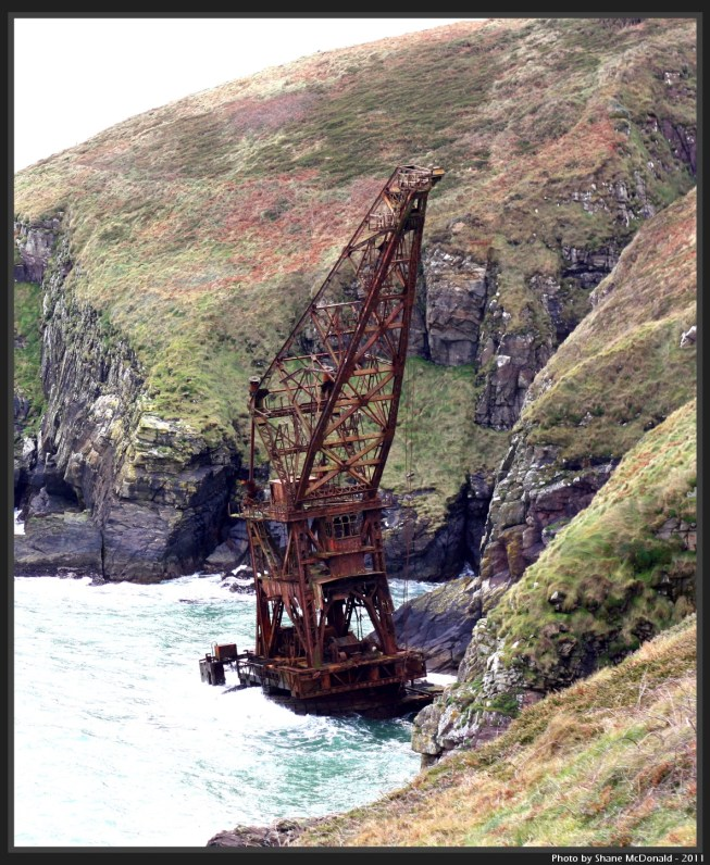 The Samson, Crane Ship, Ardmore, Co. Waterford, Ireland