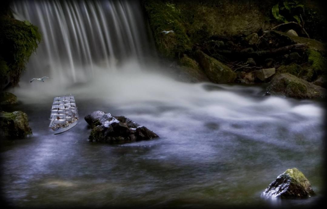 Fantasy Waterfall Scene – Photo of the Week