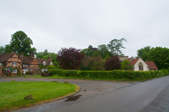 The Village used in the Vicar of Dibley Hit BBC TV Show