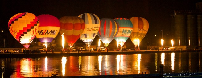 Irish Hot Air Ballooning Championships : Nightglow Waterford