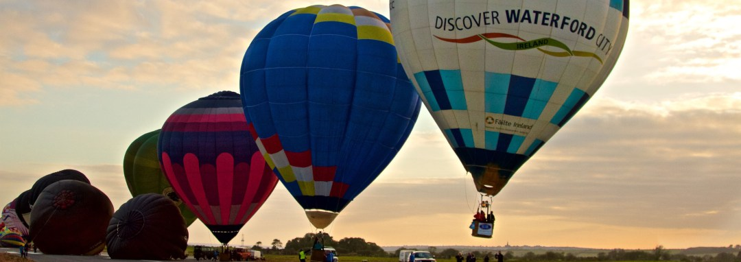 Irish Balloon Championships Discover Waterford City Balloon