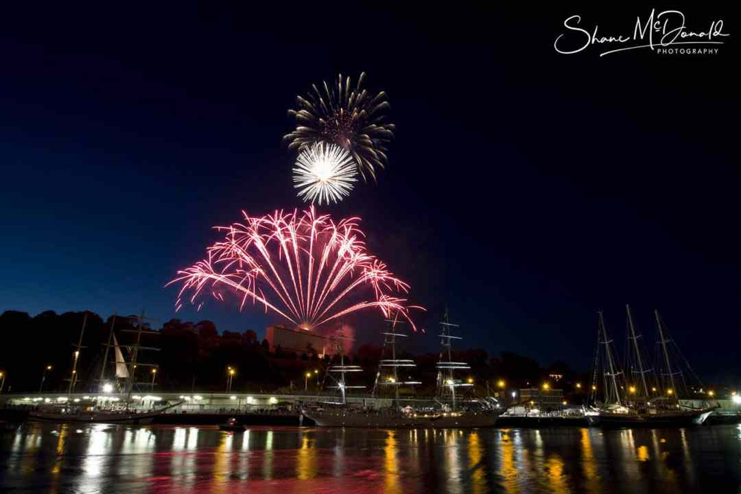 Tall Ships Fireworks, Waterford - Event Photography