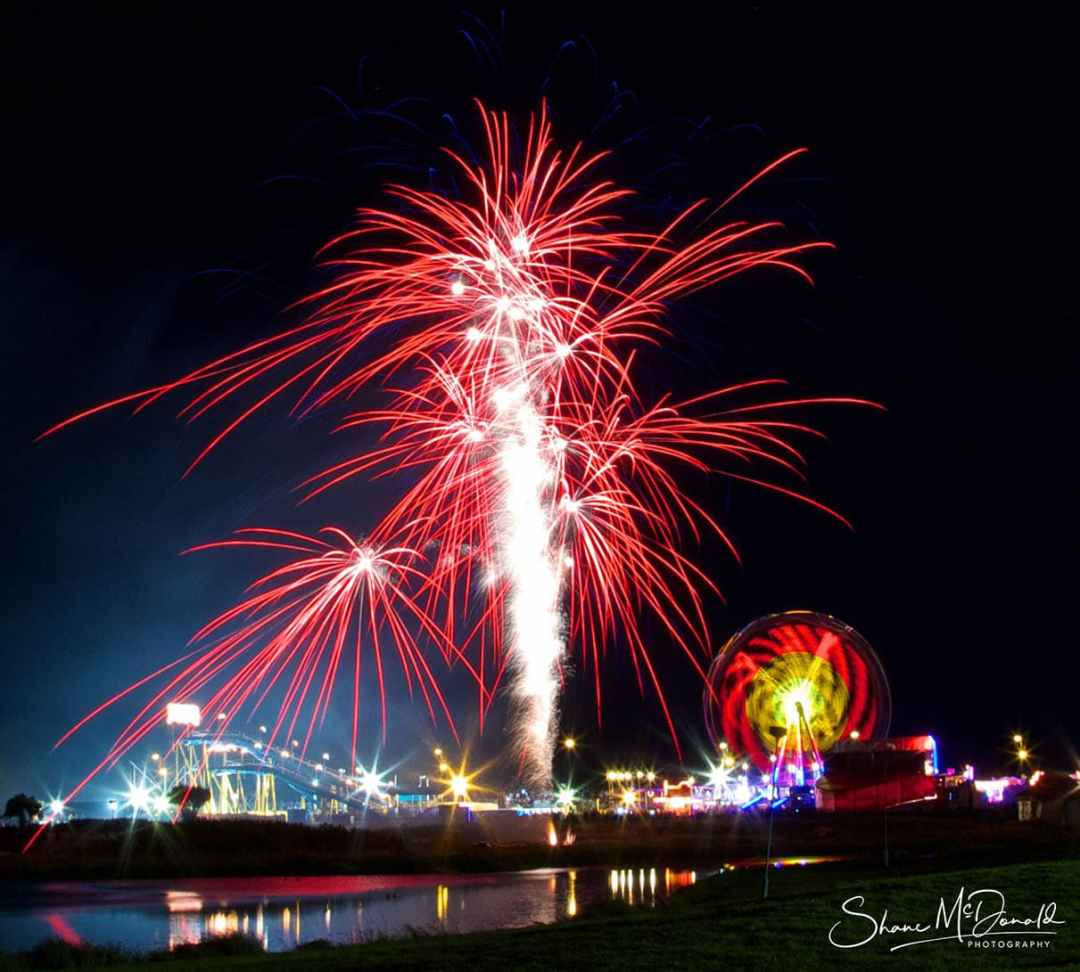 Tramore End of Year Fireworks - Event Photography