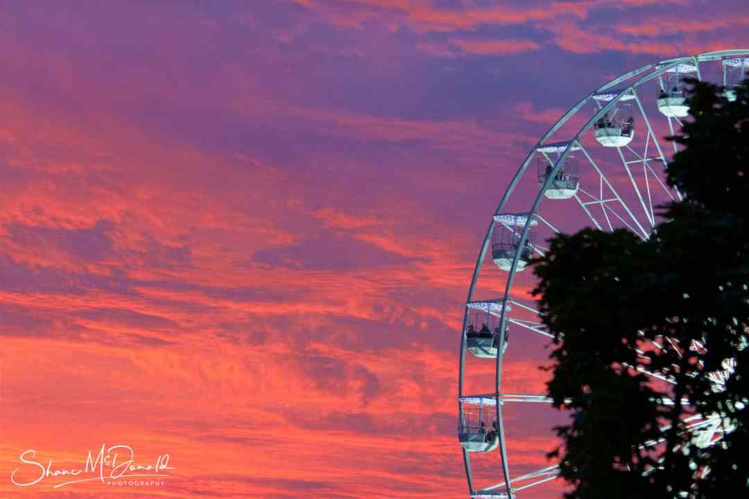 The Big Wheel at the Isle of Wight Festival