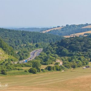 View from Butser Hill National Nature Reserve