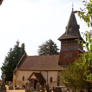 All Saints Church in Steep