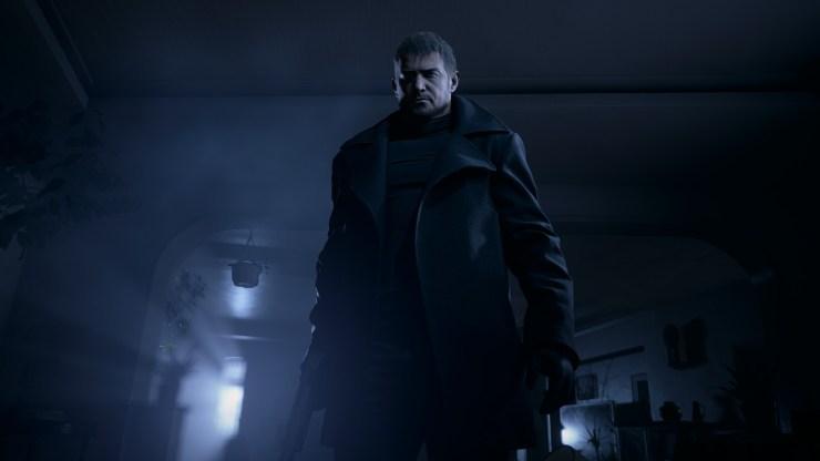 Chris Redfield em Resident Evil Village.