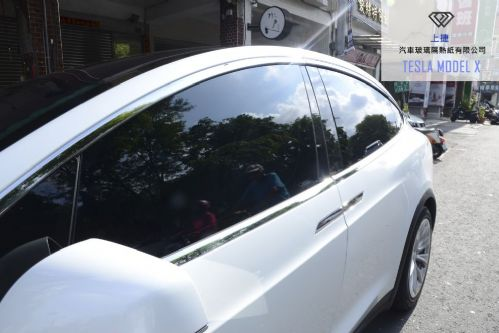 TESLA MODEL X - FSK / 格菱威隔熱紙-上捷汽車玻璃隔熱紙