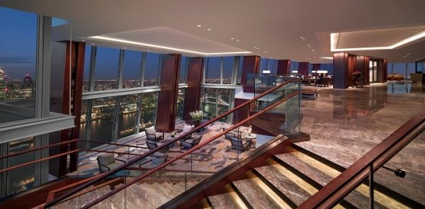 Luxury Hotel In London Shangri La Hotel At The Shard