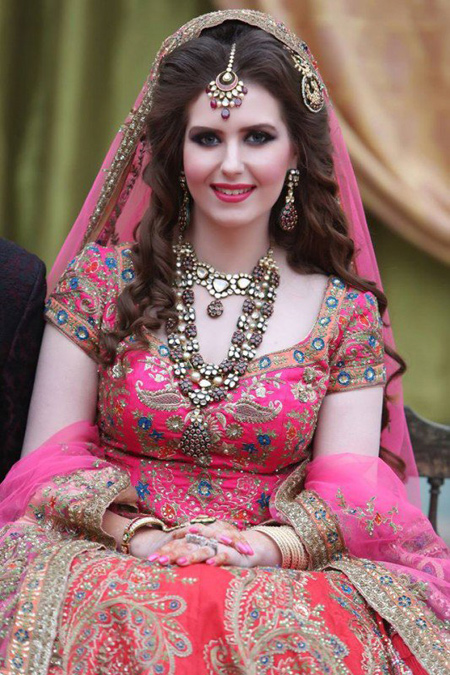 Asian Bridal Makeup And Hairstyle Shanilas Corner