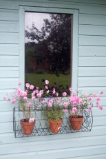 Garden design is sometimes in the detail as in this window box