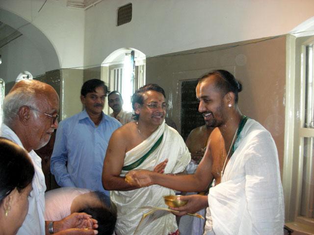 U. Ve. MV Ananthapadmanabhachariar Swami