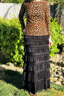 Pleated Eleganza Skirt