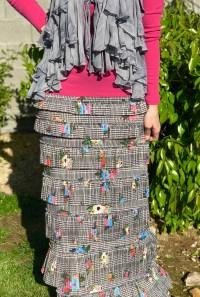 Pleated eleganza skirt ~ Contour