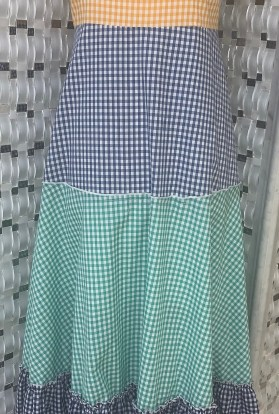 Ruffle summer maxi dress
