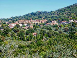 Paciano in Umbria