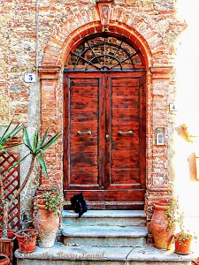 ornate doorways