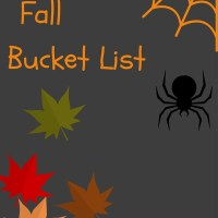 Fall Bucket List Update