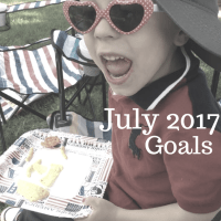 July 2017 Goals and a June Review