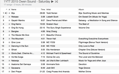 Spring Yoga Playlist