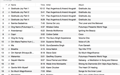 Prenatal Yoga Playlist