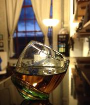 Topsy turvy taste of rum