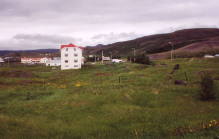 Our campsite was on the outskirts of the little town of Reykjahlið.