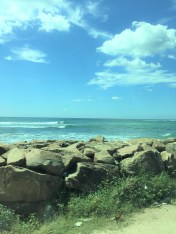 The whole southern coast is quite scenic and apparently is popular with people learning to surf. Maybe next time.