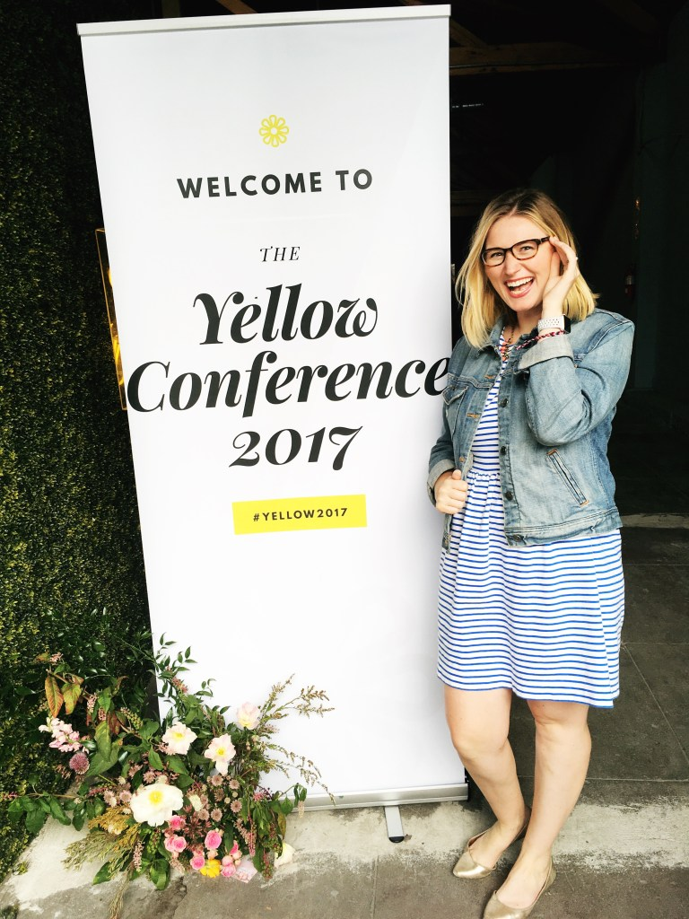 Yellow Conference 2017, what is the yellow conference, when is the yellow conference, what do I get at the yellow conference, conferences for creatives, conferences for female entrepreneurs, conferences for ethical companies, inspirational conferences