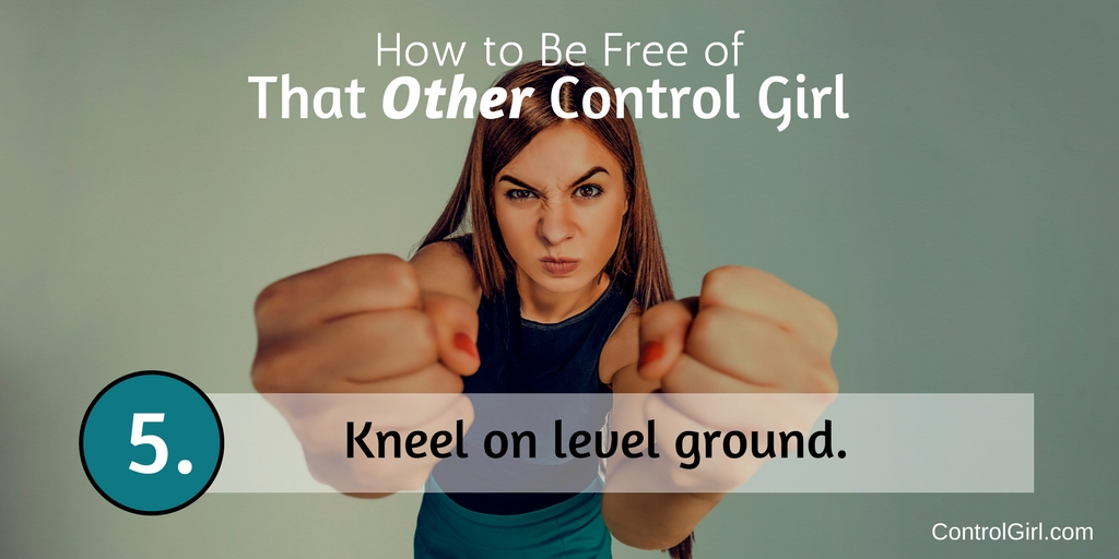 Step 5: Kneel on Level Ground