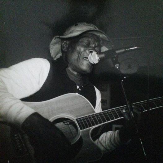 Louis Popeye Green plays Jim Collins bar in Savannah, Georgia. Photo: Irene Ward