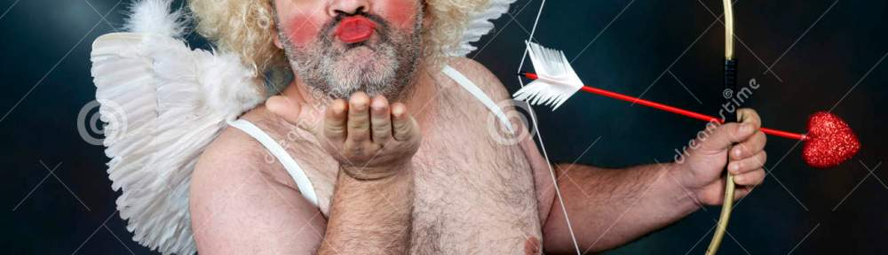 mature-cupid-fat-bearded-hairy-bow-heart-arrow-sending-kiss-48937002