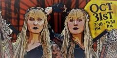 The Harp Twins Halloween Savannah Show!