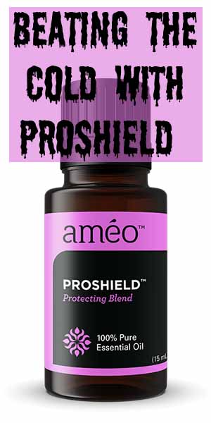 Beating the Cold with Proshield This winter I only had one cold and it didn't last very long thanks to Proshield!