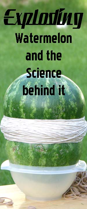 Exploding Watermelon and the science behind it!