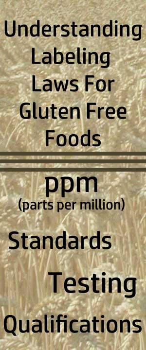 Understanding Labeling Laws For Gluten Free Foods