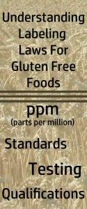 Understanding Gluten Free Labeling Laws
