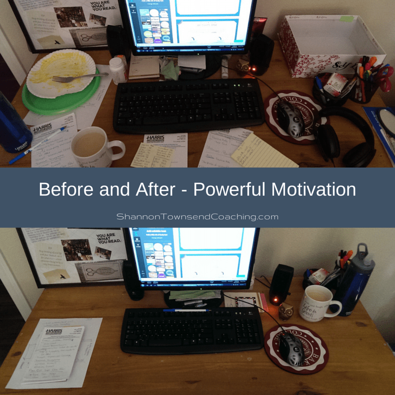 Before and After - Powerful Motivation