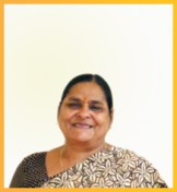 Mrs Madhu Sharma - M.A. in Economics and Social sciences and Diploma in Library sciences and Drawing and Painting teaches the students Hindi and social science.